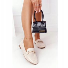 PS1 Classic Women's Beige Eloquence loafers 2