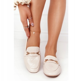 PS1 Classic Women's Beige Eloquence loafers 3