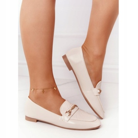 PS1 Classic Women's Beige Eloquence loafers 5