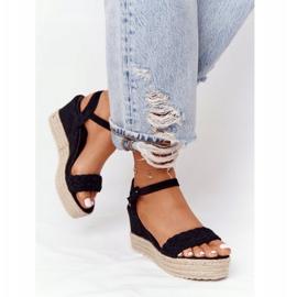 PS1 Black Balearic Wedge Sandals beige 4