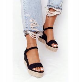 PS1 Black Balearic Wedge Sandals beige 5