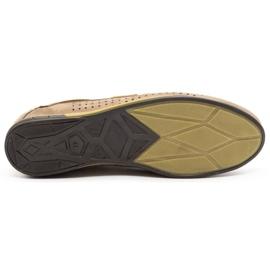 Mario Pala Men's openwork shoes 563 beige 1
