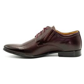 Olivier Formal shoes 481 claret red multicolored 3