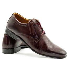Olivier Formal shoes 481 claret red multicolored 6