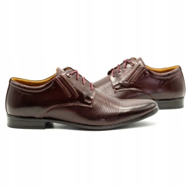 Olivier Formal shoes 481 claret red multicolored 7