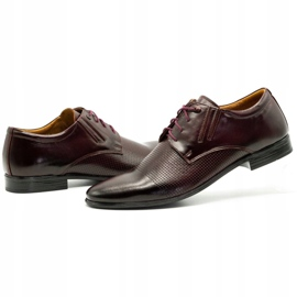 Olivier Formal shoes 481 claret red multicolored 8