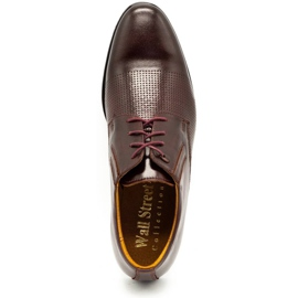 Olivier Formal shoes 481 claret red multicolored 1