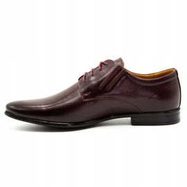 Olivier Burgundy formal shoes 480 red multicolored 2