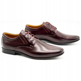 Olivier Burgundy formal shoes 480 red multicolored 3