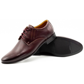 Olivier Burgundy formal shoes 480 red multicolored 4