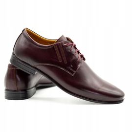Olivier Burgundy formal shoes 480 red multicolored 5