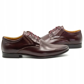Olivier Burgundy formal shoes 480 red multicolored 6