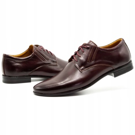 Olivier Burgundy formal shoes 480 red multicolored 7