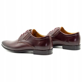 Olivier Burgundy formal shoes 480 red multicolored 8