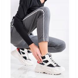 Seastar Sport Fashion Boots white black red 3