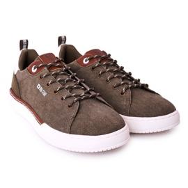 Men's Sneakers Big Star HH174160 Khaki 3