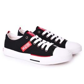 Men's Big Star HH174039 Black Sneakers 5