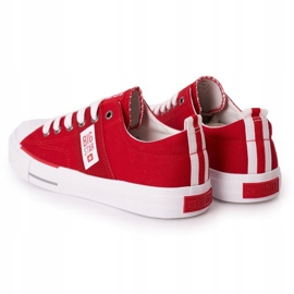 Men's Big Star HH174040 Red Sneakers white 1
