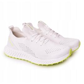 Men's Sports Shoes Memory Foam Big Star FF174235 White-Lime green 5