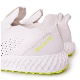 Men's Sports Shoes Memory Foam Big Star FF174235 White-Lime green 1