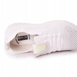 Men's Sports Shoes Memory Foam Big Star FF174235 White-Lime green 2