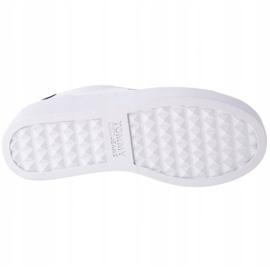Tommy Hilfiger Iconic Leather Flatform shoes in EN0EN01113-YBR white navy 3