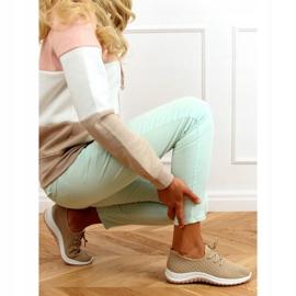 G-323 Beige beige sports shoes 3