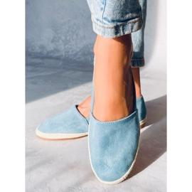 Sneakers blue espadrilles 7870 Blue 2