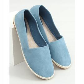 Sneakers blue espadrilles 7870 Blue 1