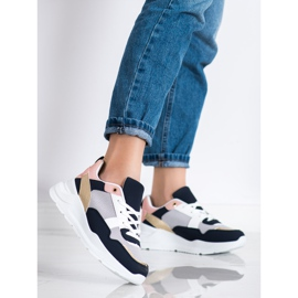 SHELOVET Stylish sneakers with mesh multicolored 2