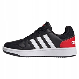 Adidas Hoops 2.0 Jr FY7015 shoes black 1