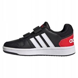 Adidas Hoops 2.0 C Jr FY9442 shoes black 1
