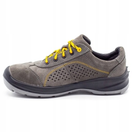 ŁUKPOL Gray Techwork 1128 men's working shoes grey 1