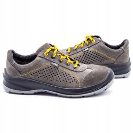ŁUKPOL Gray Techwork 1128 men's working shoes grey 6