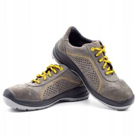 ŁUKPOL Gray Techwork 1128 men's working shoes grey 7