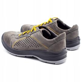 ŁUKPOL Gray Techwork 1128 men's working shoes grey 8