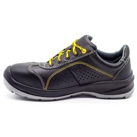 ŁUKPOL Techwork 1128 black men's working shoes 1