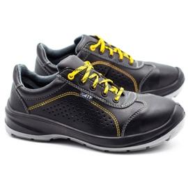 ŁUKPOL Techwork 1128 black men's working shoes 3