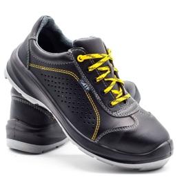 ŁUKPOL Techwork 1128 black men's working shoes 5