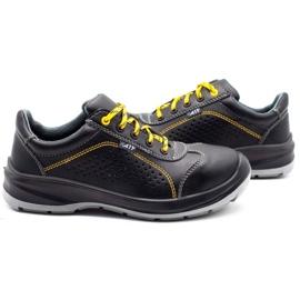 ŁUKPOL Techwork 1128 black men's working shoes 6