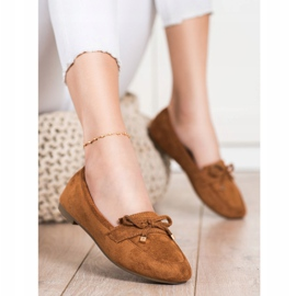 Anesia Paris Loafers With A Bow brown 4