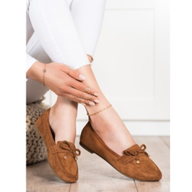 Anesia Paris Loafers With A Bow brown 1