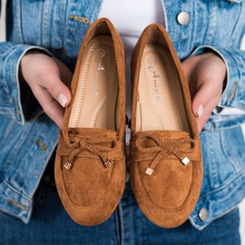 Anesia Paris Loafers With A Bow brown 2