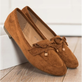 Anesia Paris Loafers With A Bow brown 3