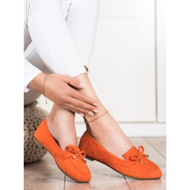 Anesia Paris Loafers With A Bow orange 2