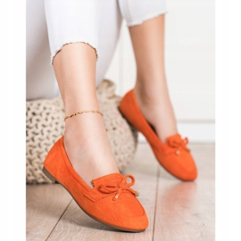 Anesia Paris Loafers With A Bow orange 1