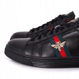 Bednarek Polish Shoes Men's Leather Shoes Sneakers Bednarek Black 3