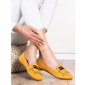 Anesia Paris Stylish moccasins yellow 3