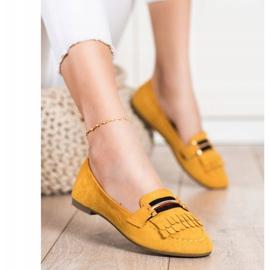 Anesia Paris Stylish moccasins yellow 2
