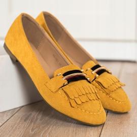 Anesia Paris Stylish moccasins yellow 1
